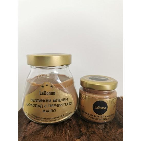 Бeлгийски  млечен шоколад с пречистено масло