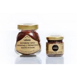 Белгийски черен шоколад с пречистено масло и касис
