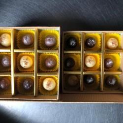 Бонбони Лешник микс Три шоколада